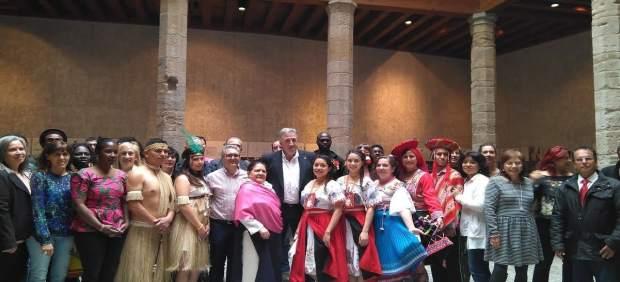 Recepción al Foro de la Diversidad Cultural de Pamplona