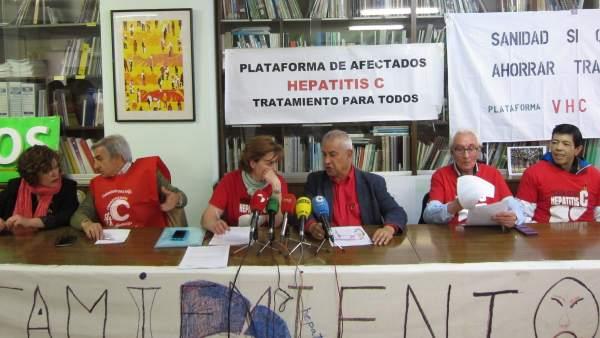 Rueda de prensa de la Plataforma sobre la denuncia ante Fiscalía