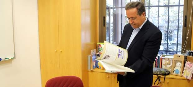 Antoni Garrido, presidente de la Comisión de libros de texto del Gremi d'Editors de Catalunya
