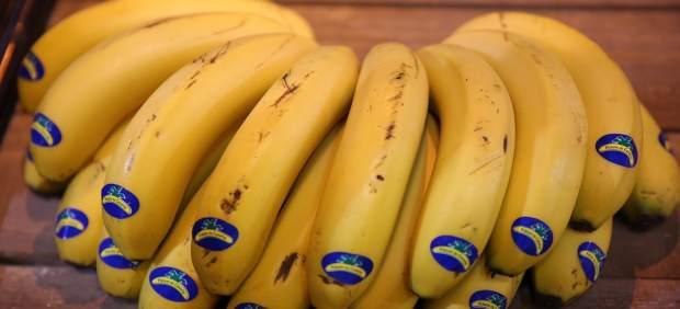 Fruta, frutas, plátano, plátanos