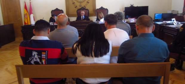 Juicio atraco Yuncos, acusados