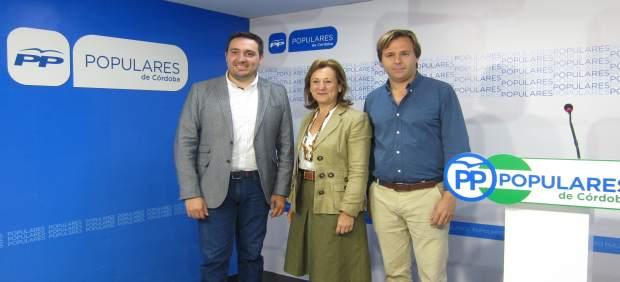 Antonio Repullo, Laura Ruiz y José María Estepa