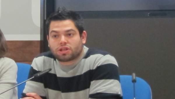El concejal de Economía y Empleo de Oviedo, Rubén Rosón (Somos).