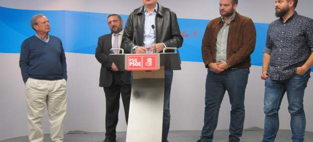 El portavoz de la campaña de Patxi López a las primarias del PSOE, Óscar López