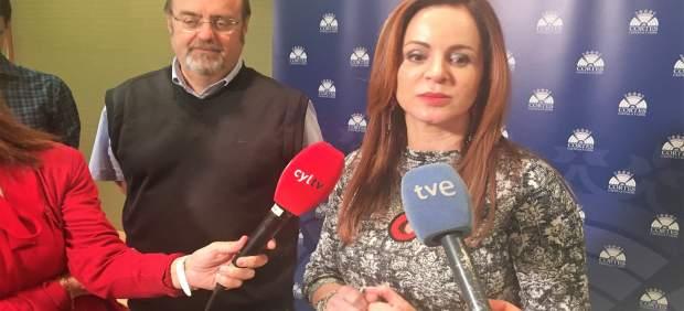Valladolid.- Fernando Rey y Silvia Clemente