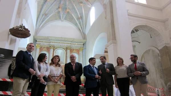 Visita a la iglesia de Santo Domingo de Jaén.