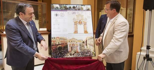 Sevilla 19/05/2017 Juan Carlos Cabrera, Delegado De Fiestas Mayores, Ha Presenta