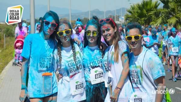 Foto de la Unicaja Color Road celebrada en otras localidades