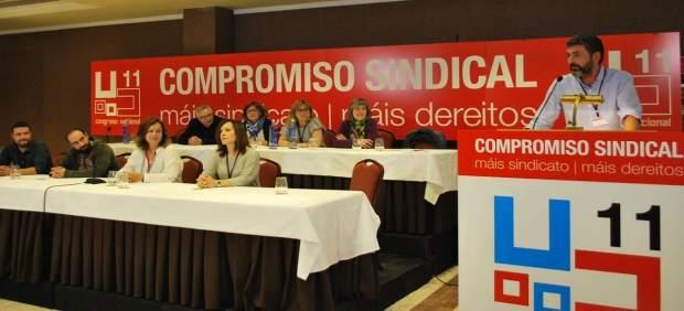 El nuevo secretario xeral de CC.OO. En Galicia, Ramón Sarmiento