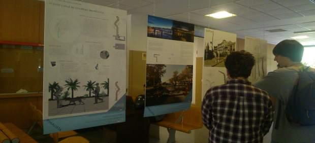 Exposición de los diseños ganadores.