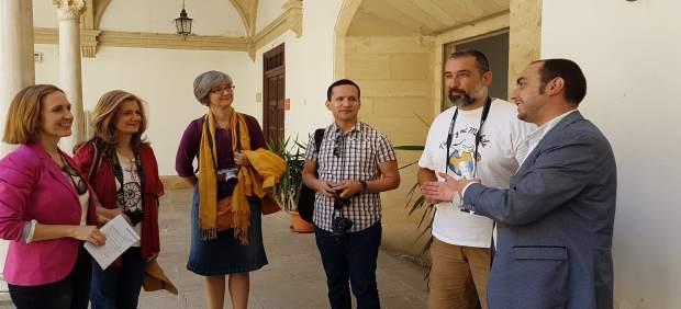 Participantes en el blogtrip sobre oleoturismo