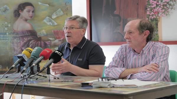 Andrés Pino y Juan Antonio Cebrián