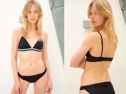 """""""Demasiado gorda para Louis Vuitton"""": la denuncia de una modelo con una talla 34"""