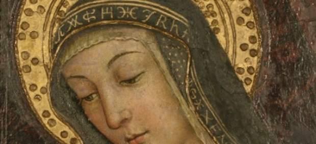 El retrato de la VIrgen de Pinturcchio (siglo XV)