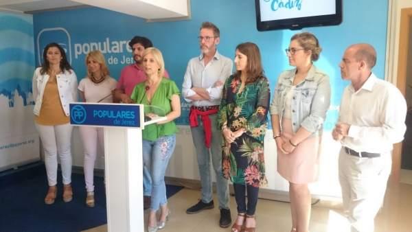 Presentación del congreso en el PP de Jerez