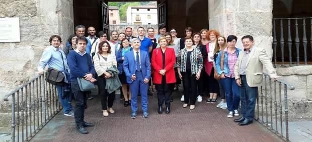 Miembros del Consejo de Europa y participantes del Laboratorio de Faro