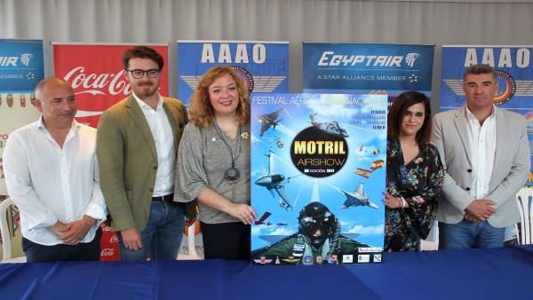 Presentación del cartel del XII Festival Aéreo Internacional