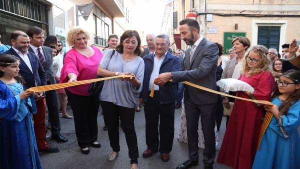 Armengol inaugura el Mercado Medieval de Capdepera