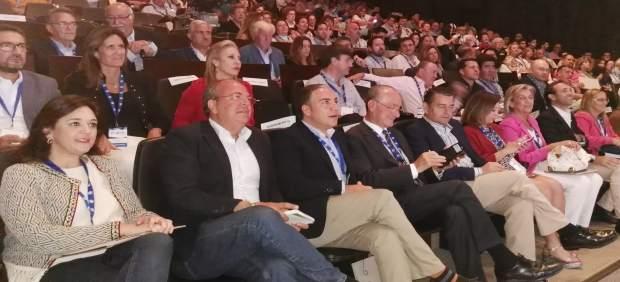 Congreso del PP de Málaga, Elías, Monago, Sanz
