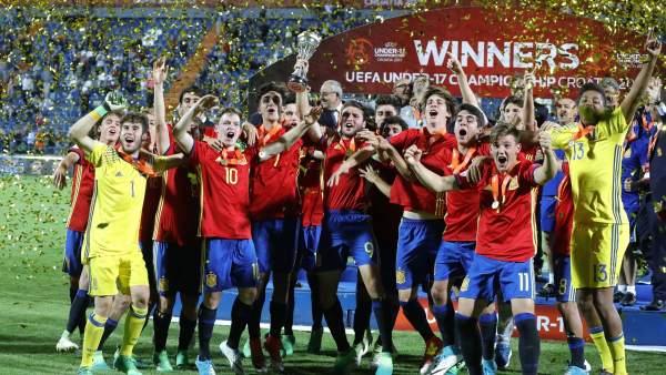 Espana Campeona De Europa Sub 17 Al Derrotar A Inglaterra En La