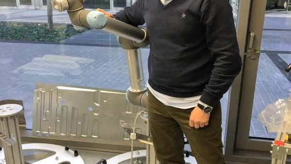 El empresario y fundador de Neobotik, David Muñoz.
