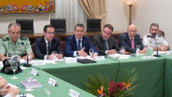 Reunión entre el delegado del Gobierno y el Cuerpo Consular de Málaga