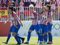 Las jugadoras del Atlético tienen una prima de 54 euros por ganar la Liga; los del Madrid, 300.000