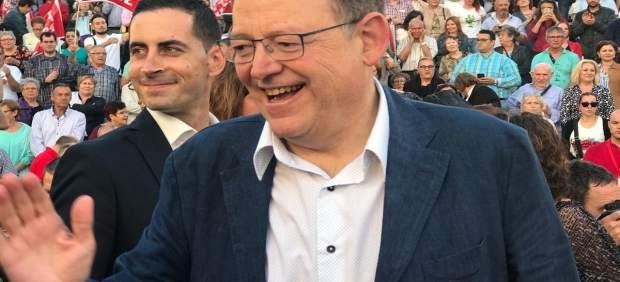 El 'president' en un acto de apoyo a Díaz este pasado viernes