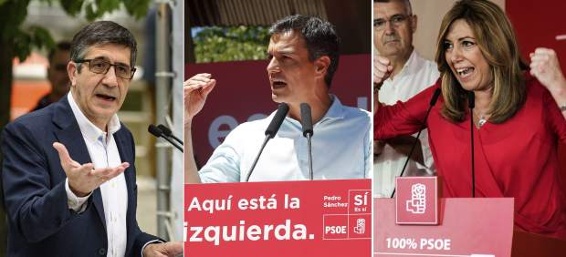Patxi, Pedro, Susana
