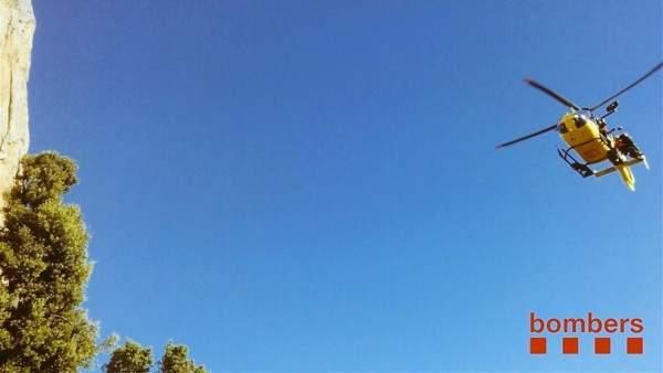 Helicóptero de bomberos