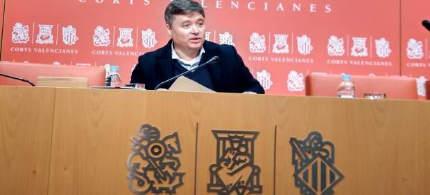 Luis Santamaría en una rueda de prensa