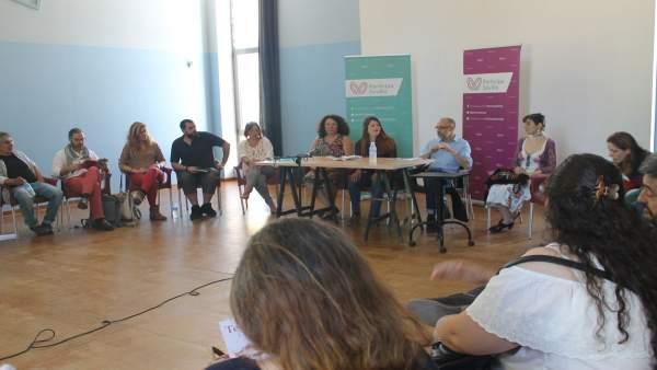 Acto Pensar la Cultura, de Participa Sevilla