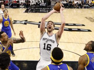 Pau Gasol, Spurs - Warriors