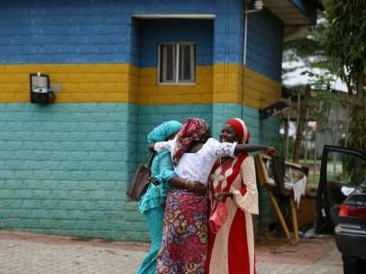 Niñas liberadas de Chibok