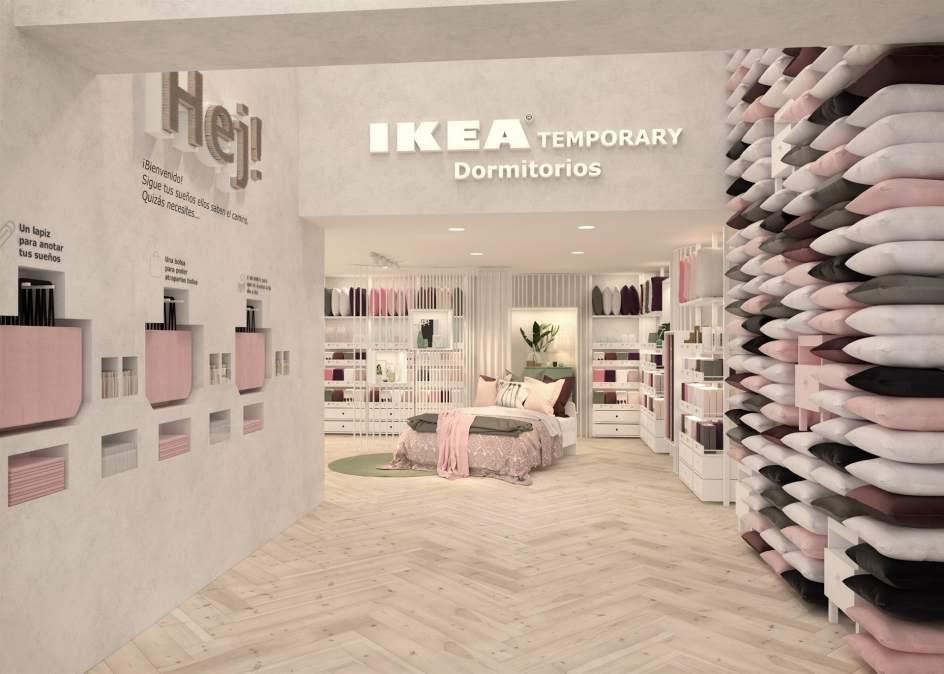 ikea desembarca en el centro de las ciudades con una tienda temporal en madrid. Black Bedroom Furniture Sets. Home Design Ideas