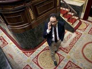 Antonio Hernando dimite como portavoz del PSOE nada más anunciarse la victoria de Sánchez