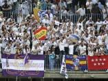Afición del Madrid.