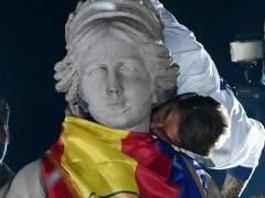 Atendidas 28 personas en las celebraciones en Cibeles tras el título de Liga del Real Madrid