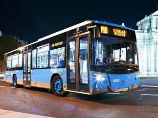 Autobús nocturno o búho de Madrid