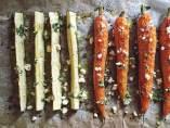 Verduras braseadas
