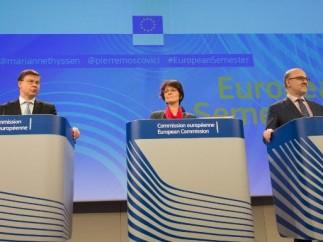 Bruselas exige a España más contratación fija y que aumente la ayuda social a las familias