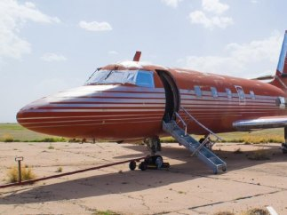 Sale a subasta el avión de Elvis