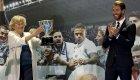 El Real Madrid ofrece el título de Liga