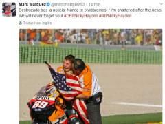 Marc Marquez y Nicky Hayden