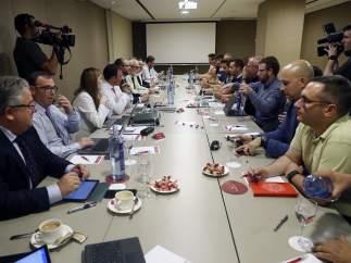 Reunión patronal - estibadores