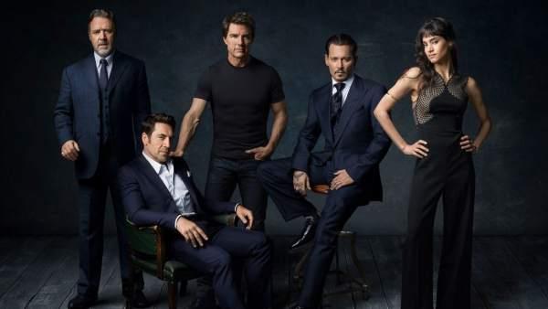 Johnny Depp y Javier Bardem, confirmados para las nuevas cintas de monstruos de Universal