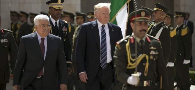 Trump y Abás
