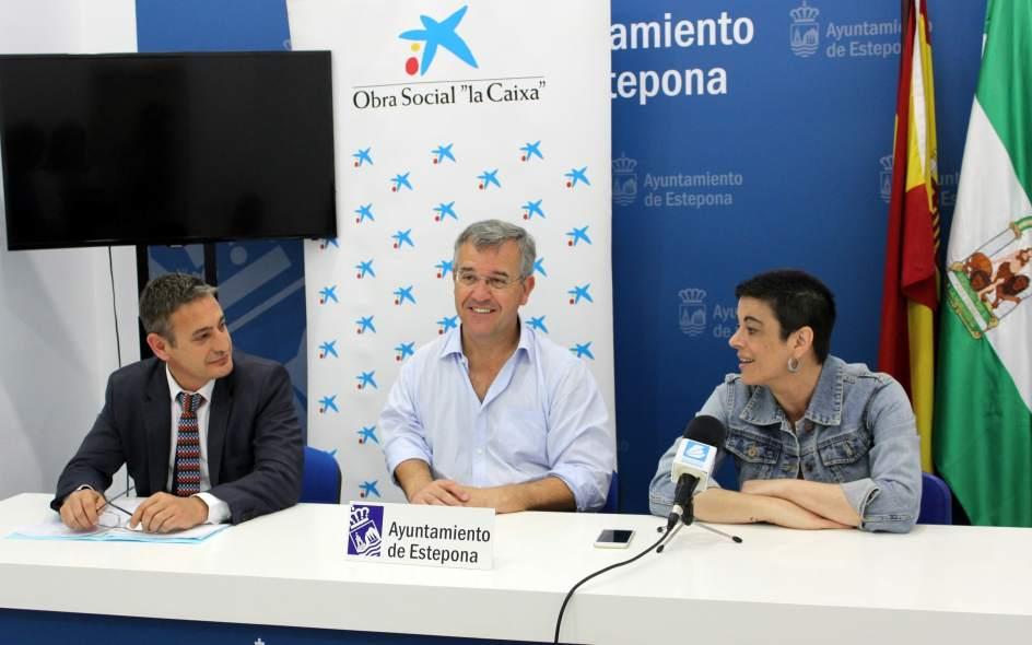 Estepona y obra social la caixa entregan una subvenci n de euros a la asociaci n local - Pisos de obra social la caixa ...