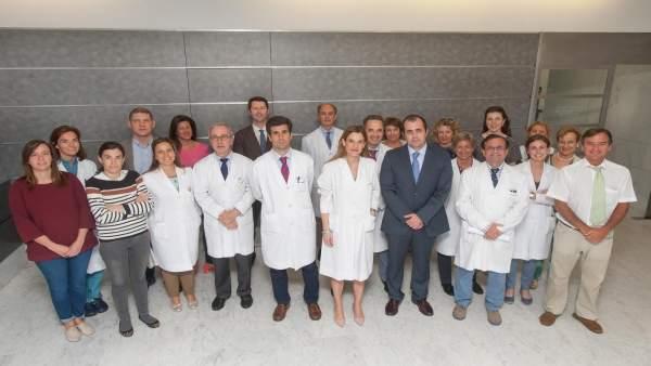 Grupo de especialistas de la Clínica Universidad de Navarra y del CHN