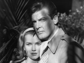 Roger Moore, de 'El Santo' a 'James Bond'